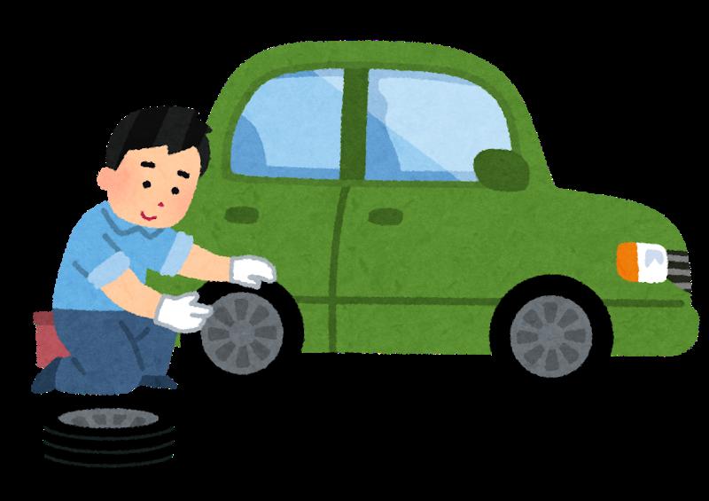 バイク タイヤ 交換 工賃